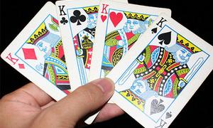 Гадание «На четырех королей» на игральных картах